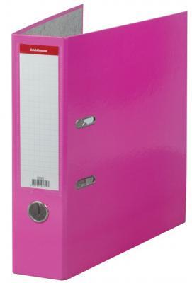 """Папка–регистратор ERICH KRAUSE """"Neon"""", ламинированная, 70 мм, розовая, 45399 цены"""