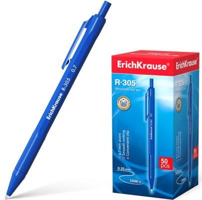 Набор шариковых ручек автоматическая Erich Krause R-305 39055 50 шт синий 0.35 мм erich krause набор шариковых ручек r 301 amber 0 7 stick