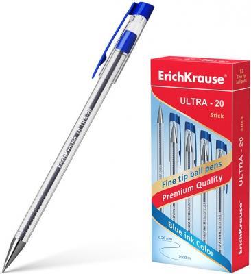 Набор шариковых ручек Erich Krause ULTRA-20 13875 12 шт синий 0.26 мм erich krause набор шариковых ручек r 301 amber 0 7 stick