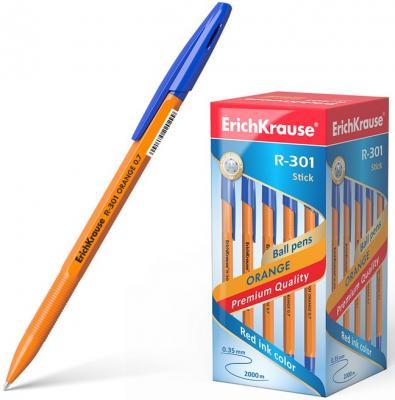 Набор шариковых ручек Erich Krause R-301 Orange Stick 0.7 43194 50 шт синий 0.35 мм erich krause набор шариковых ручек r 301 classic 1 0 stick