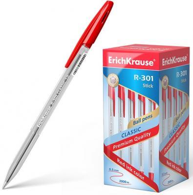 Набор шариковых ручек Erich Krause R-301 Classic Stick 1.0 43186 50 шт красный 0.5 мм erich krause набор шариковых ручек r 301 amber 0 7 stick