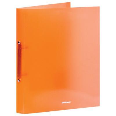 Папка на 2 кольцах ERICH KRAUSE Glance Neon, 35 мм, до 250 листов, 500 мкм, неоновая, ассорти, 42972