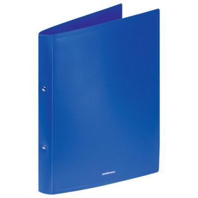 Папка на 4 кольцах ERICH KRAUSE Classic, 24 мм, до 130 листов, 500 мкм, синяя, 42983