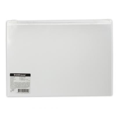 """все цены на Папка-конверт на молнии ERICH KRAUSE """"Fizzy"""", B5, ПВХ, прозрачная, 44418 онлайн"""