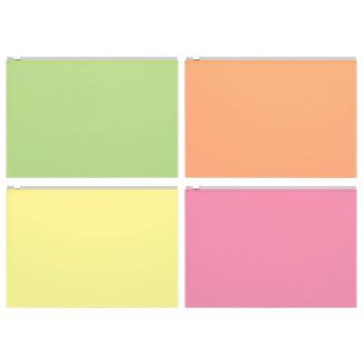 """все цены на Папка-конверт на молнии ERICH KRAUSE """"Fizzy Neon"""", B5, ПВХ, прозрачная, неоновая, ассорти, 44420 онлайн"""