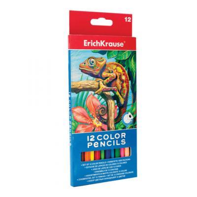 Набор акварельных карандашей Erich Krause 32479 12 шт 175 мм акварельные erich krause набор шариковых ручек r 301 classic 1 0 stick 3 шт 42618
