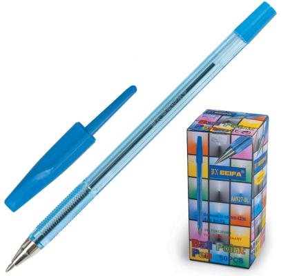 Ручка шариковая BEIFA Ручка шариковая синий 0.5 мм ручка beifa шариковая черная aa 927 пластик 0 5 мм