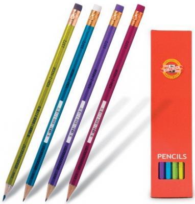 Карандаш графитовый Koh-i-Noor Oriental 12 шт 175 мм в ассортименте карандаш цветной koh i noor химический 175 мм