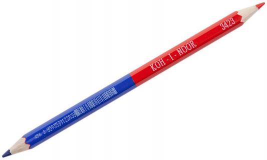 Карандаш цветной Koh-i-Noor 34230EG006KS 175 мм двухцветные