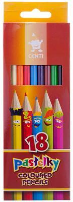 Набор цветных карандашей Koh-i-Noor Centi 2143018002KS 18 шт 175 мм