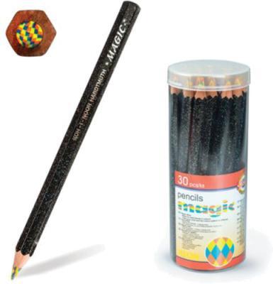 Карандаш с многоцветным грифелем KOH-I-NOOR, 1 шт., Magic Neon, 5,6 мм, заточенный, 3405004031TD