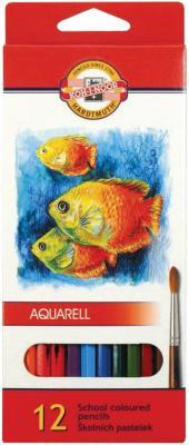 Набор акварельных карандашей Koh-i-Noor Fish 12 шт fish parasites part i