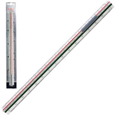 Линейка масштабная Koh-i-Noor 071500400000 30 см пластик