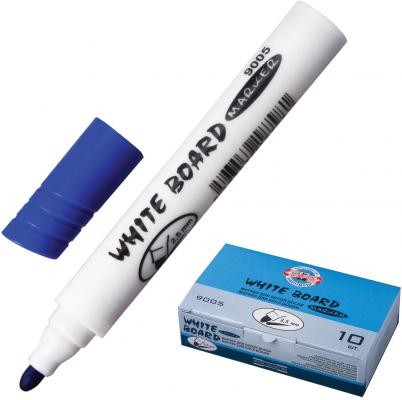 Маркер для доски Koh-i-Noor 7790051701KSRU 2.5 мм синий цена и фото
