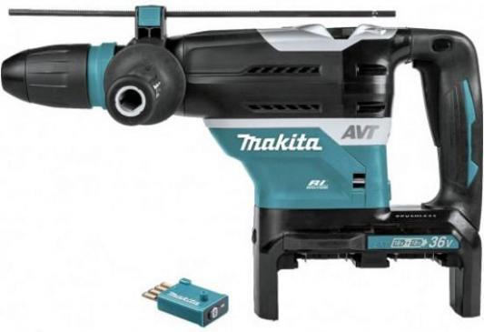 Перфоратор акк MAKITA DHR400ZKU  SDS-max,36В д//2-х ак18В Li-ion, бесщ., 8Дж, 2900уд//м,AWT/Bluetooth