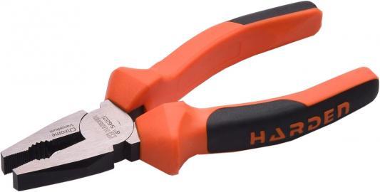Плоскогубцы HARDEN 560222 комбинированные bulldog профессиональные crv 200 мм комбинированные плоскогубцы topex 200 мм 32d100
