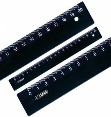Фото - Линейка СТАММ ЛН15 20 см пластик 210503 линейка стамм лн02 16 см пластик 210484