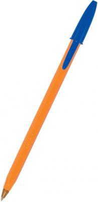 Шариковая ручка шариковая BIC Orange синий 0.3 мм bic kids ручка шариковая bp clic boy blu