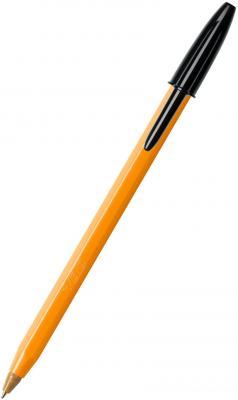 Шариковая ручка шариковая BIC Orange черный 0.30 мм bic kids ручка шариковая bp clic boy blu