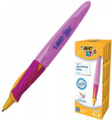 Ручка шариковая BIC Kids Twist синий 0.35 мм фломастеры bic kids colour