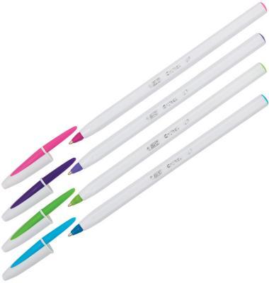 Ручка шариковая BIC Cristal UP ассорти 0.35 мм ручка шариковая автоматическая bic 4 colours ассорти 0 32 мм
