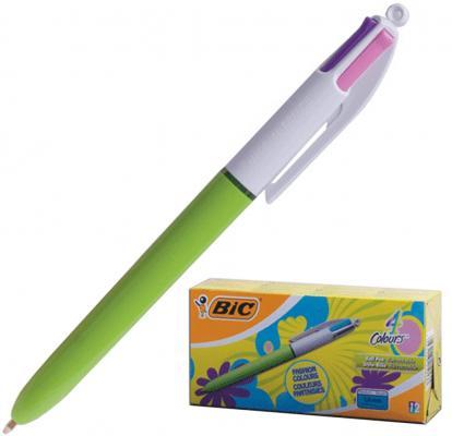 Ручка шариковая автоматическая BIC 4 Colours ассорти 0.32 мм ручка шариковая bic 4 colours fine автоматическая 0 36 мм 4 цвета
