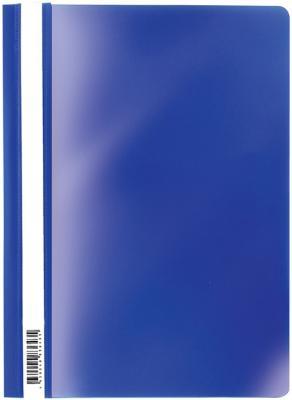 """цена на Скоросшиватель пластиковый ERICH KRAUSE """"Economy"""", А4, до 130 листов, 160 мкм, синий, 30657"""
