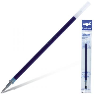 Стержень гелевый гелевая Erich Krause G-Base синий 0.4 мм гелевая ручка erich krause g base красный 0 5 мм 30937