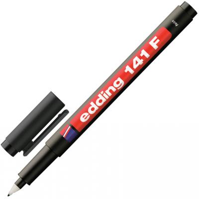 Маркер для пленок и глянцевых поверхностей Edding Маркер 0.6 мм черный