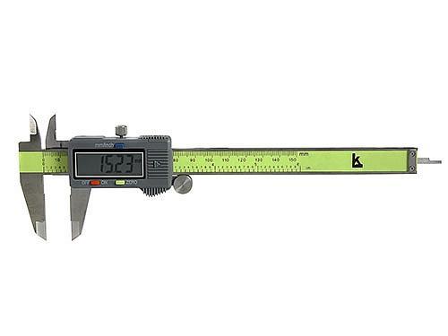Штангенциркуль электронный с глубиномером КАЛИБРОН ШЦЦ-I 0-150 0.01 1 кл. точности штангенциркуль чиз шцц 3 500 0 01 губ 125мм