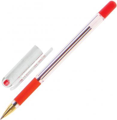 Шариковая ручка MUNHWA MC Gold красный 0.3 мм BMC-03