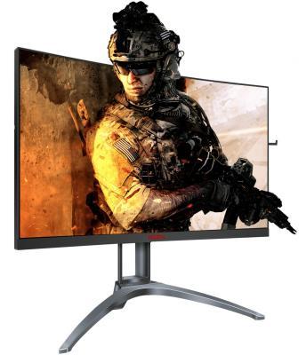 Фото - Монитор AOC 27 Gaming AG273QCX черный TN LED 1ms 16:9 HDMI M/M матовая HAS 1000:1 350cd 170гр/160гр 2560x1440 D-Sub DisplayPort QHD USB 6.8кг standard usb 3 0 a male am to usb 3 0 a female af usb3 0 extension cable 0 3 m 0 6 m 1 m 1 5 m 1 8m 3m 1ft 2ft 3ft 5ft 6ft 10ft