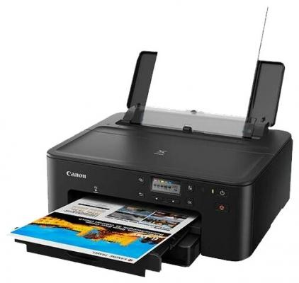 Принтер струйный Canon Pixma TS704 (3109C007) A4 Duplex WiFi USB RJ-45 черный принтер струйный canon pixma ip8740 8746b007
