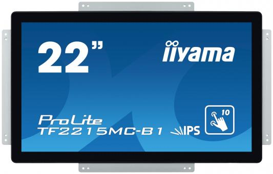 Монитор Iiyama 21.5 ProLite TF2215MC-B1 черный IPS LED 14ms 16:9 HDMI матовая 250cd 178гр/178гр 1920x1080 D-Sub DisplayPort FHD USB Touch 4.4кг