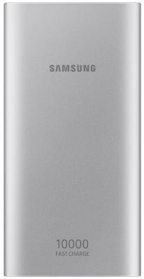 Внешний аккумулятор Power Bank 10000 мАч Samsung EB-P1100BSRGRU серебристый