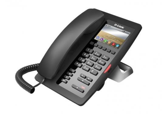 Телефон IP D-Link DPH-200SE черный (DPH-200SE/F1A) ip телефон d link dph 150s f