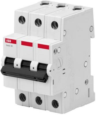 ABB 2CDS643041R0634 Авт. выкл. 3P, 63A, C, 4,5кА, BMS413C63