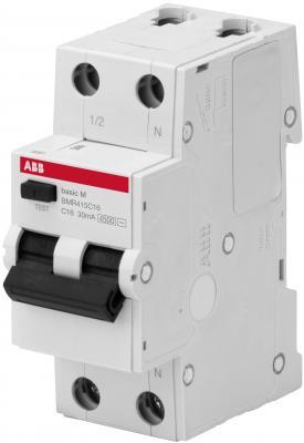 ABB 2CSR645041R1404 Выкл. авт. диф. тока, 1P+N, 40А, C, 4.5kA, 30мА, AC, BMR415C40