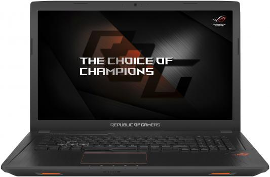 ASUS ROG GL753VD-GC525T 17.3(1920x1080 (матовый))/Intel Core i7 7700HQ(2.8Ghz)/12288Mb/1000+256SSDGb/DVDrw/Ext:nVidia GeForce GTX1050(2048Mb)/Cam/BT/WiFi/war 2y/2.9kg/Black/W10 ноутбук asus rog gl753vd 90nb0dm2 m09250 black