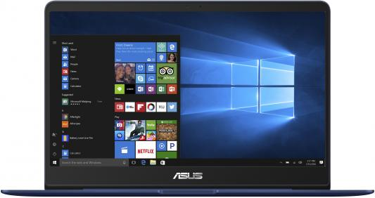 Ноутбук ASUS Zenbook UX430UA-GV414T 14 1920x1080 Intel Core i5-8250U 256 Gb 8Gb Intel UHD Graphics 620 синий Windows 10 Home 90NB0EC5-M09430 huawei honor magicbook laptop 14 inch windows 10 intel core i5 8250u quad core 1 6ghz 8gb ram 256gb ssd 1920x1080 laptops