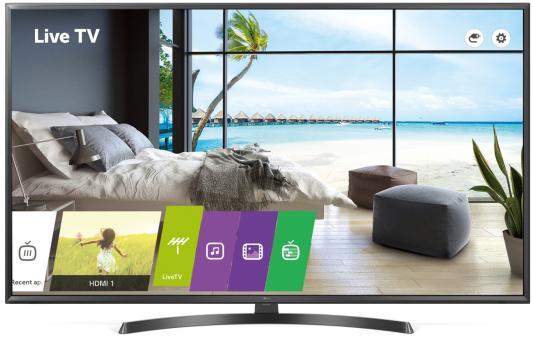Фото - Телевизор LG 65UU661H черный телевизор lg 49uk6200pla черный