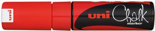 Маркер для окон и стекла UNI Chalk PWE-8K RED 8 мм красный