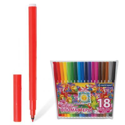 Фото - Набор фломастеров Centropen Птицы 7790/18-87 1 мм 18 шт 151190 centropen набор смываемых фломастеров colour world 18 цветов
