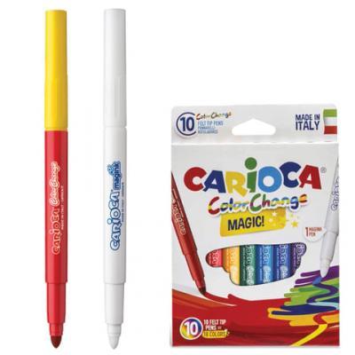 Набор фломастеров CARIOCA Color Change 42737 6 мм 10 шт 151214 набор фломастеров carioca neon 8 шт 42785