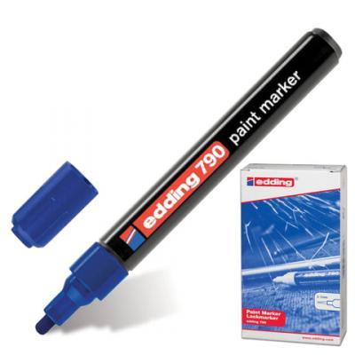 Маркер-краска лаковый Edding E-790/3 2, 3, 4 мм синий