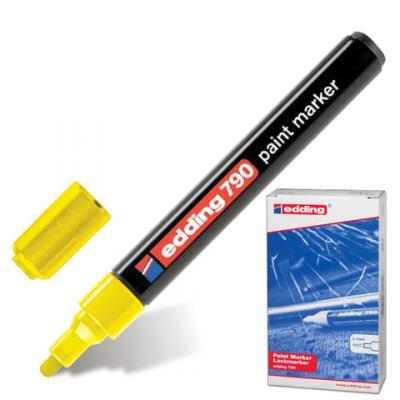 Маркер-краска лаковый Edding E-790/5 2, 3, 4 мм желтый