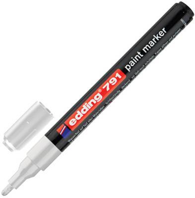Маркер-краска лаковый Edding Маркер-краска лаковый 1-2 мм белый