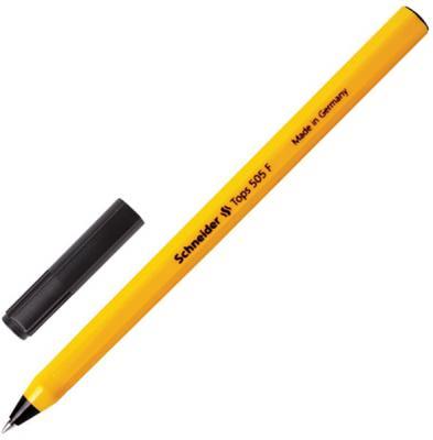 цена на Шариковая ручка шариковая SCHNEIDER Ручка шариковая Tops 505 F черный 0.4 мм