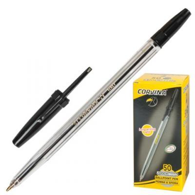 Фото - Шариковая ручка шариковая Corvina 40163/01 черный 0.7 мм шариковая ручка universal corvina wh t черный 41644 ч 41644 ч