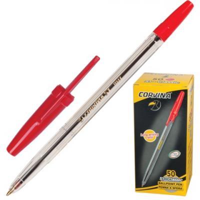 Фото - Шариковая ручка шариковая Corvina 40163/03 красный 0.7 мм шариковая ручка universal corvina wh t черный 41644 ч 41644 ч